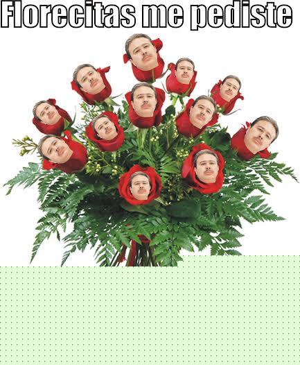 flores para el presidente