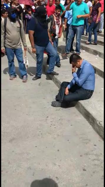 SOLO CURIOSOS SE ACERCARON, Y LA POLICIA NUNCA ACUDIO